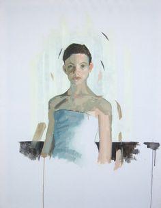 Da série A pele e o pano / From Flesh and Fabric series  1.30m x 1m / 4.30ft x 3.30ft  Acrílico s/ tecido / Acrylics on fabric  2011