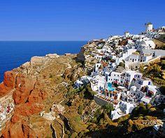 World's Best Islands: Santorini, Greece