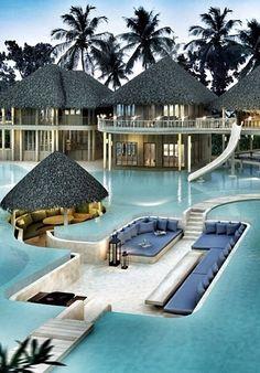 Soneva Fushi Resort .