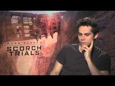 """Dylan O'Brien fala sobre """"Maze Runner - Prova de Fogo"""""""