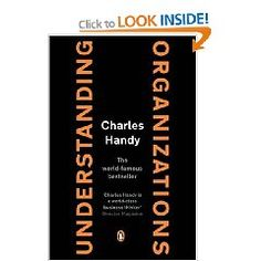 El bestseller de como funcionan las organizaciones que tuve el privilegio de estudiar con Charles Handy en Londres