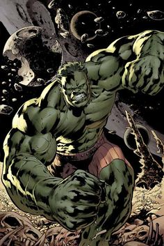 Bryan Hitch - Hulk