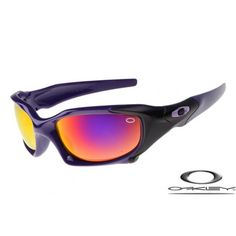 46bf71a54a Best Fake Oakley Pit Boss sunglasses purple   fire iridium for sale with  quality