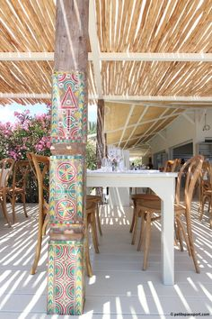 Beachouse Ibiza | summer dining