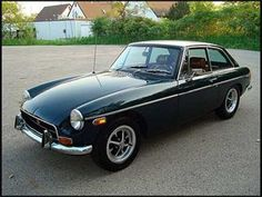 my MGB GT...EXACTLY