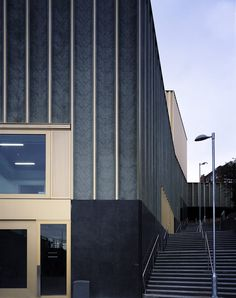 Centre for Contemporary Arts Nottingham Design: Caruso St John Architects Great Buildings And Structures, Modern Buildings, Facade Architecture, Contemporary Architecture, Landscape Architecture, Contemporary Art, Classical Architecture, Ancient Architecture, Sustainable Architecture