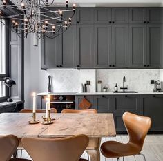 So in love with this colour palette, and this particular design does it to perfection with gorgeous designer lighting and chairs to complete the look