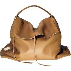 Lukas Gschwandtner Theres Cognac ($475) ❤ liked on Polyvore featuring bags, handbags, purses, bolsas, cognac leather purse, man bag, brown purse, genuine leather purse and handbag purse
