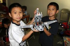 Two campers Lego Star Wars creation.