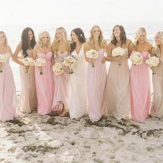 Melbourne Australia Beach Wedding Theme | Summer Wedding Style Bridesmaids | Matron of Honor | Dresses #bride #love