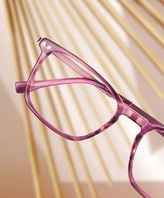 Transparent Glasses Frames, Pink, Women, Fashion, Moda, Fashion Styles, Pink Hair, Fashion Illustrations, Roses
