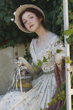 Rebecca's Fairy Tale World: Photo - Today it finally happened- historical photo-shooting in one of my last works- dress and hat. And me as a model.Photo: Victoria LevinDress, make-up, model: Rebecca Shtulman Historical Costume, Historical Clothing, Look Fashion, Fashion Tips, Character Inspiration, Vintage Inspired, Fairy Tales, Retro Vintage, Beautiful People
