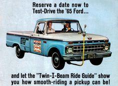 1965 Ford truck I-beam test drive