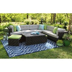 Canyon Sectional with Premium Sunbrella® Fabric - Sam's Club