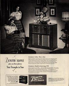 Zenith Radio-Phonograph
