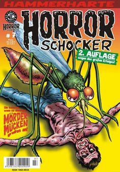 Cover for Horrorschocker (Weissblech Comics, 2004 series) #7 [2. Auflage]