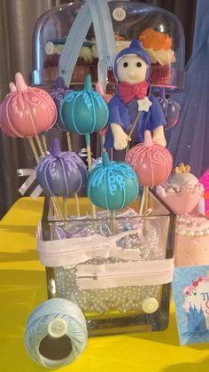 Cinderella | CatchMyParty.com: Pumpkin Pops