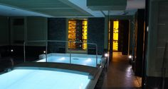 Wine cellar in pool area, Courchevel - by Degré 12