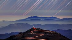Atmospheric refraction plays with the light of any object near the horizon. Here stars, startrails and the sun, filmed in timelapse photography from two major observatories in Chile, display immense distortion above inversion layers in the outskirts of the Atacama desert, Chile. The moon scene is filmed near Boston at the Atlantic Ocean shoreline. The mirage is an optical phenomenon in which light rays are refracted and bent in the atmosphere and produce distorted or multiple images of the…