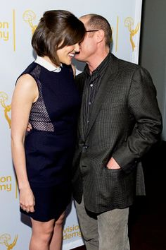 """keptyn: """" Megan Boone and James Spader at the Television Academy Presents An Evening with """"The Blacklist"""" - April 2014 [x] """" Aww The Blacklist Tv Series, Elizabeth Keen, James Spader Blacklist, Megan Boone, Brad Paisley, Miranda Lambert, Popular Shows, Love Me Forever, Actors & Actresses"""
