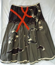 MISS ME Camo Skirt!  So cute!  great for Fall Fashion!