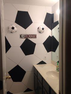 Wonderful Pink Seahorse Children S Wall Art Kid Bathroom Decor. Usa Soccer Shower  Curtain