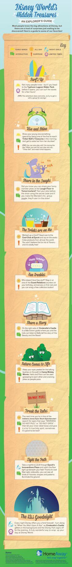Disney World Secrets Infographic