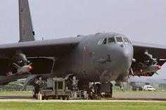 60-0062 B-52H 2nd BW, Barksdale AFB, RAF Fairford 3-5-1999
