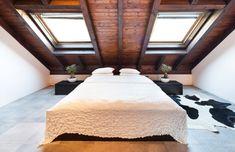 Arredare la camera da letto in mansarda - Arredare in mansarda ...