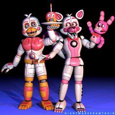 Fnaf Gif, Anime Fnaf, Five Nights At Freddy's, Fnaf Freddy, Dream Anime, Fnaf Wallpapers, Funtime Foxy, Fnaf Sister Location, Fnaf Characters