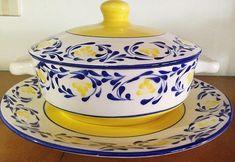 Container Organization, Kitchen Organization, Blue Pottery, Pottery Designs, China Painting, Amalfi, Ceramic Art, Colonial, Dinnerware