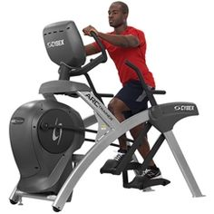my new favorite workout machine the arc trainer by cybex (can be found with arms for total body workout or without arms for lower body workout in your gym). Exercise Equipment For Sale, Best Home Workout Equipment, Commercial Fitness Equipment, Cardio Equipment, Weight Training Programs, Workout Programs, Arc Trainer, Cross Trainer, Bike Trainer