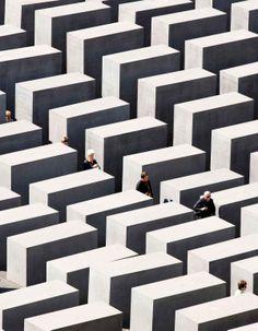 Holocaust Memorial, Berlin, Germany.