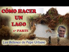 CÓMO HACER UN LAGO 1ª PARTE - YouTube Nativity, Love Her, Lily, Youtube, Cribs, Miniatures, Nyc, Activity Toys, Craft