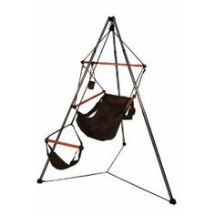 Hammaka Portable Outdoor/Camping Tripod Stand With Hanging Air Chair Combo Hammock Chair Stand, Hammock Accessories, Camping Accessories, Air Chair, Portable Hammock, Tent Camping, Outdoor Camping, Camping Gear, Furniture For You