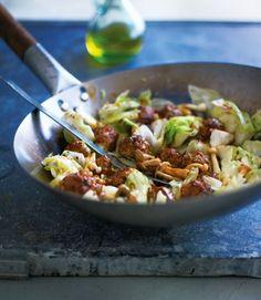 Stir-fried-pork-and-prawn-balls-with-cabbage