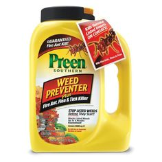 Preen Southern Garden Weed Preventer Plus Fire Ant Flea and Tick Killer - G81 2464033X