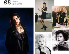 90s Fashion Moments - #8 badass goth girls.- nostalgia list!
