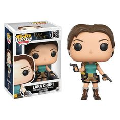(affiliate link) Tomb Raider Lara Croft Pop! Vinyl Figure