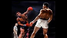 Probably the most talked about fantasy boxing match up of all time, Muhammad Ali v Mike Tyson has always been a fight that has always gotten us thinking Mike Tyson Fights, Smokin Joes, Creation Art, George Foreman, Muhammad Ali, Upper Body, Martial Arts, Hip Hop, Martial