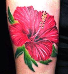 03 Hibiscus Flower Tattoo