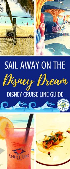 A Disney Cruise Guide: The Disney Dream Considering a Disney Cruise Line vacation? This guide to the Disney Dream will have you DREAMIN' of Castaway Cay and kids clubs on board. Best Cruise, Cruise Tips, Cruise Travel, Cruise Vacation, Honeymoon Cruises, Vacation Packing, Vacation Places, Vacation Spots, Disney World Trip