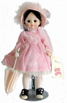 Vintage Madame Alexander Rebecca Doll 14 frenchgardenhouse.com