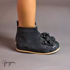 Gjergjani leather Boots for her ONLY at 👉 ittybittytoes.com  2-5 Day Delivery Worldwide