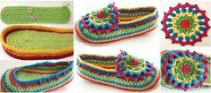 Crochet Slipper-boot tutorial