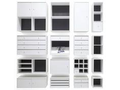 Sectional bookcase MONTANA SHELVING UNITS - Montana Møbler
