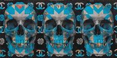 December Winds (Blue Skulls)