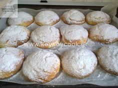 Greek Cookies, Greek Desserts, Cheesecake Cupcakes, Sweet And Salty, Nutella, Sweet Tooth, Food And Drink, Cooking Recipes, Sweets