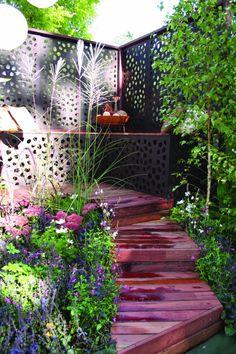 treillis-de-jardin-unique-un-escalier-en-bois-superbe.jpg (600×900)