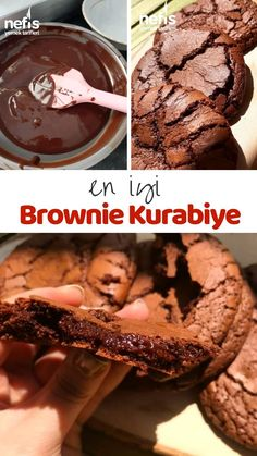 Subway Cookie Recipes, Easy Cookie Recipes, Sweet Recipes, Nutella Recipes, Brownie Recipes, Cake Recipes, East Dessert Recipes, Turkish Recipes, No Bake Desserts